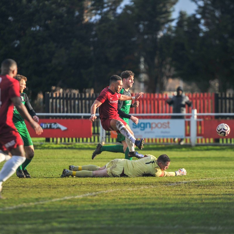 17/03/19 v Cray Valley (a) FA Vase, by Tom West