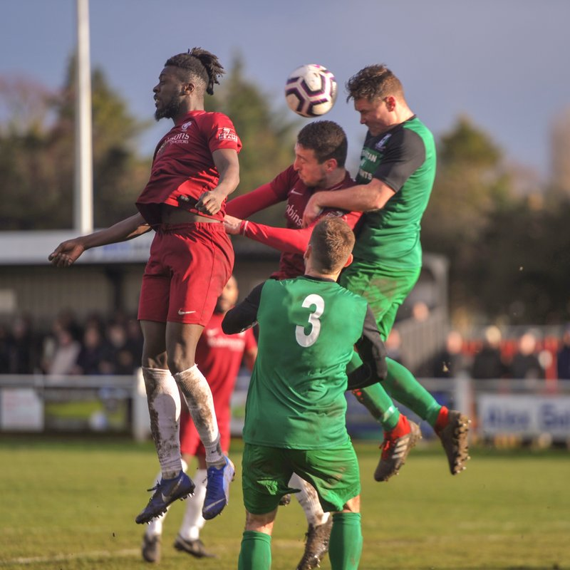 FA Vase Semi-Final Tightly Poised as City Take One Goal Deficit into Return Leg