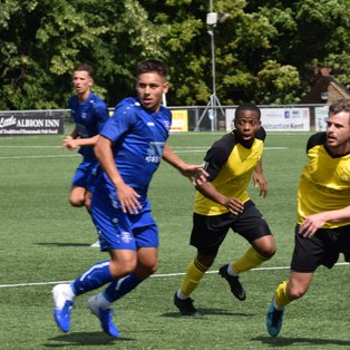 Higher League Margate give Bay little opportunity.