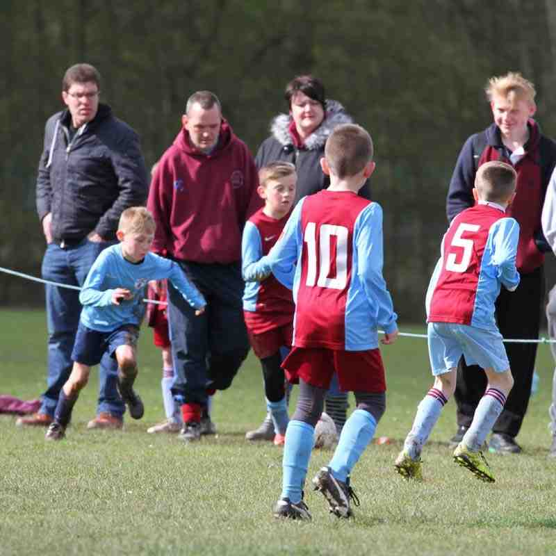 Under 9's Cup Final - 16th April 2016