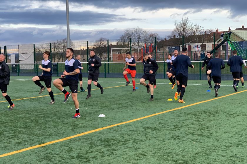 Letham CC V Jeanfield Swifts AFC Match report