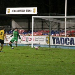 Tadcaster Albion 0 - 1 Ossett Town AFC - in keeping with the night these are a little late