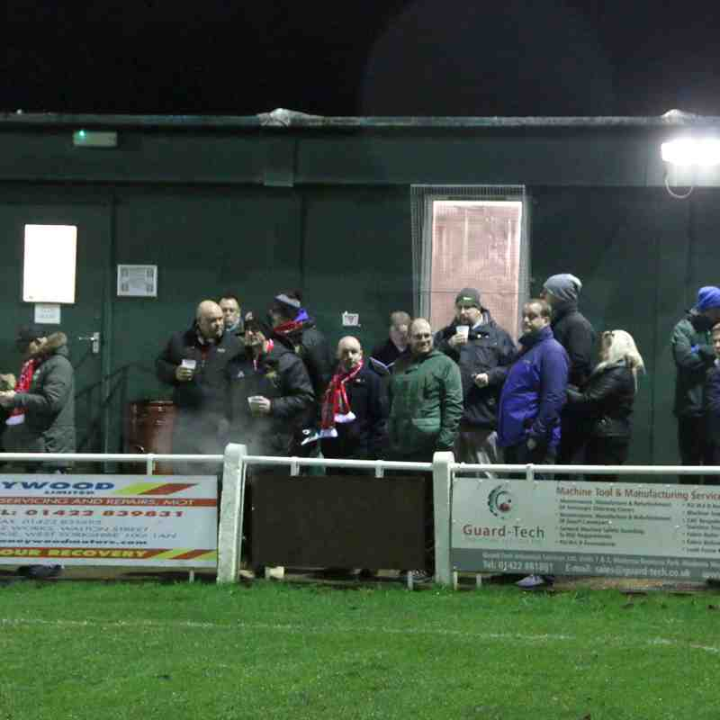 Brighouse Town v Ossett Town West Yorkshire County Cup 09/01/2017