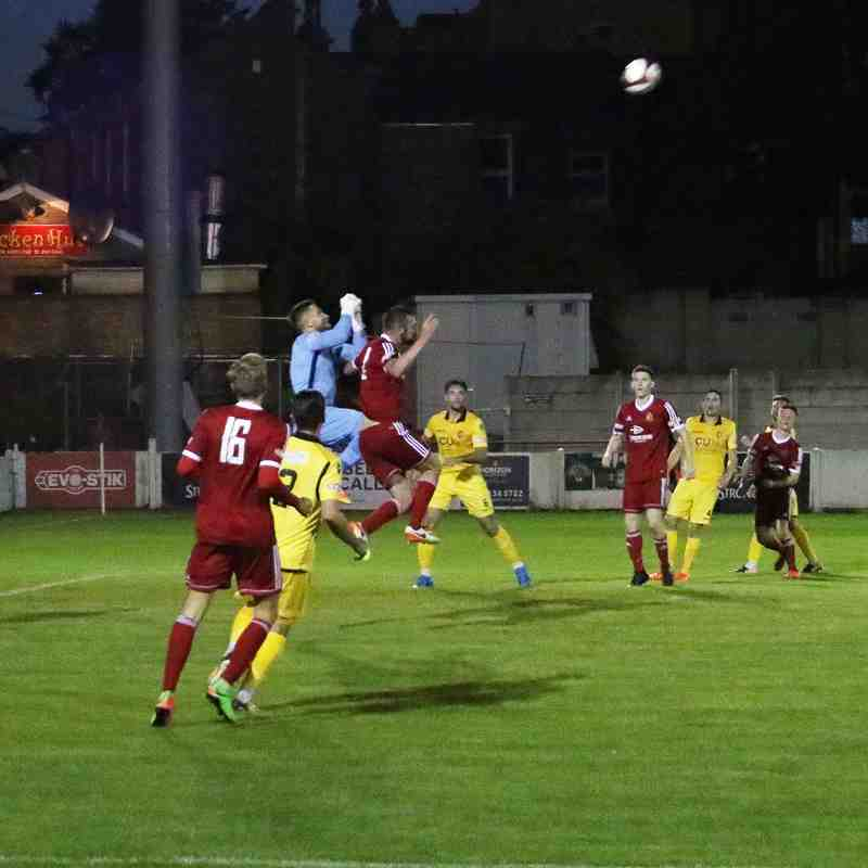 Ossett Town AFC v Scarborough Athletic - Tue 15/08/2017