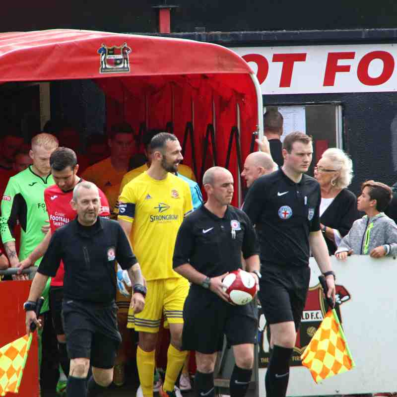 Sheffield FC v Ossett Town AFC - FA Cup Prelim Round - 19/08/2017
