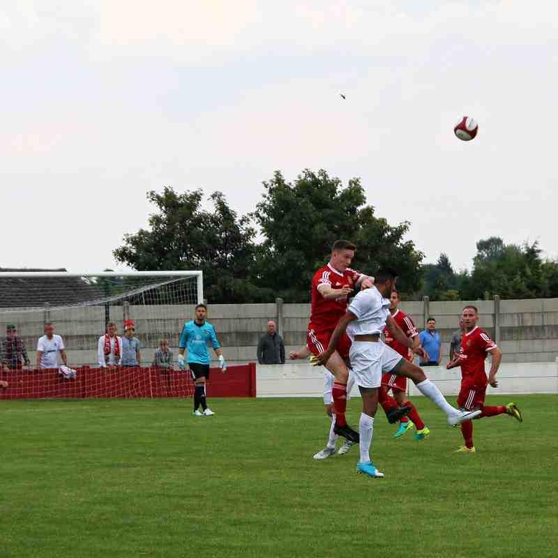Ossett Town AFC v Consett AFC FA Cup QR1 - 02/09/2017