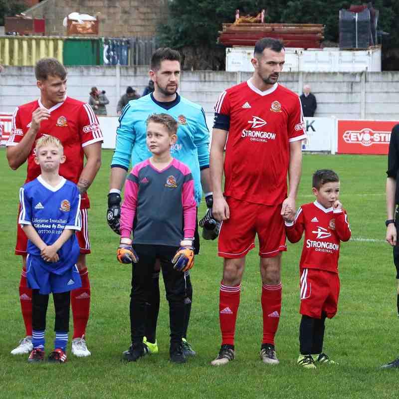 Ossett Town AFC v Droylsden FC FA Trophy 28/10/2017
