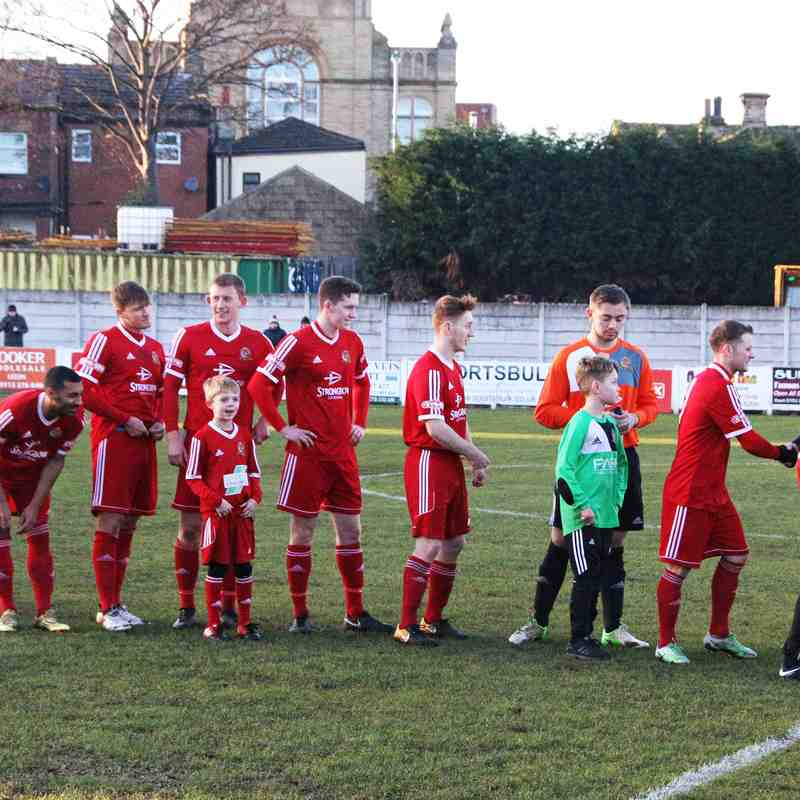 Ossett Town AFC 0 v 2 Colwyn Bay - Saturday 6th January 2018