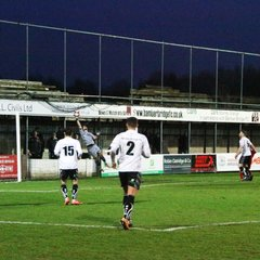 Bamber Bridge 3 v 2 Ossett Town - Sat 13th Jan 2018
