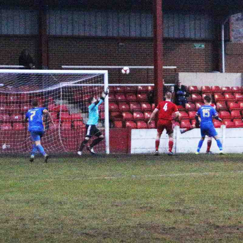 Ossett Town 0 v 1 Radcliffe Borough Sat 10th Feb 2018
