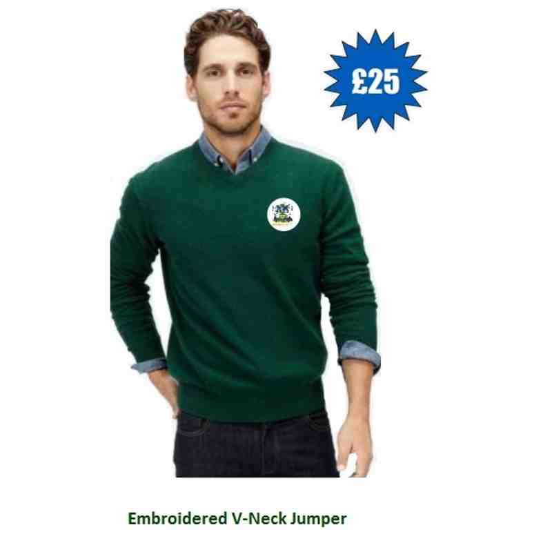 ARFC Branded V-Neck Jumper