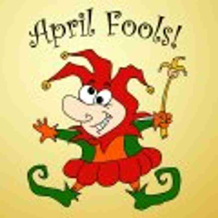 LAST WEEK TO GET TICKETS - All Fools Lunch Saturday 01st April 2017