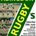 Abingdon Rugby Club - 64th Annual Sevens Tournament