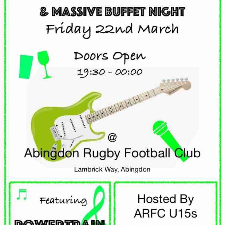 Band and Buffet Night!