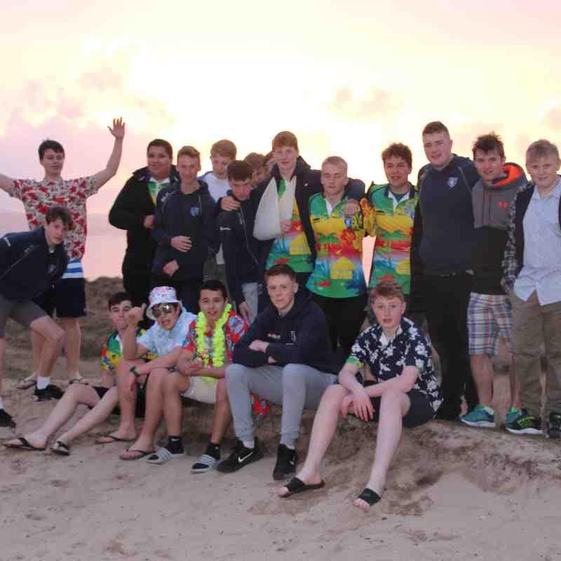Lewes U15's Surfer Dudes Tour of Cornwall