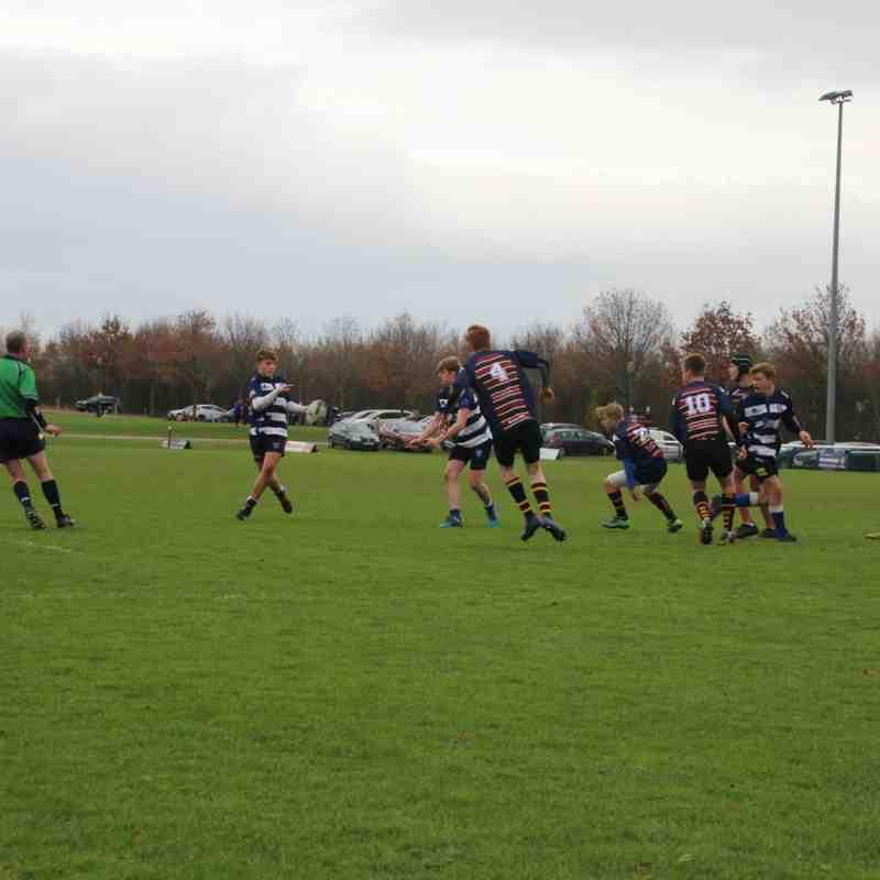 Lewes U16's vs Old Albainians