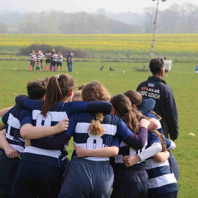 Lewes Lionesses U13's Festival at Pulbrough RFC 07-04-2019