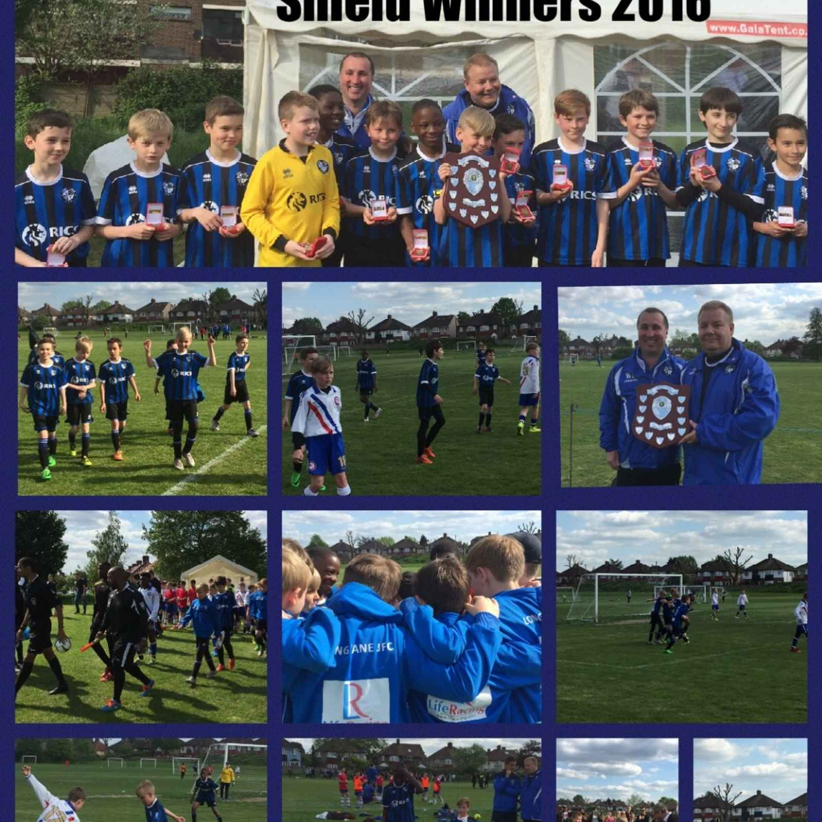 U11 Tigers Win Purple Shield Final