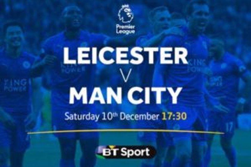 BIG SCREEN LIVE FOOTBALL - Leicester City v Manchester City