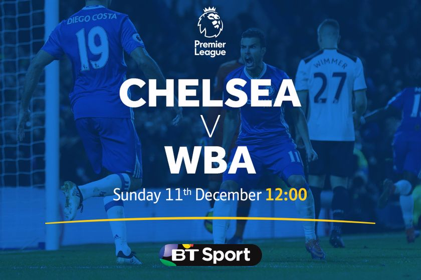 BIG SCREEN LIVE FOOTBALL - Chelsea v West Brom