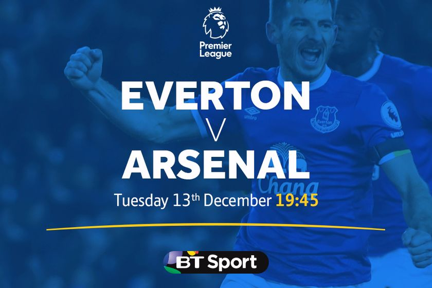 BIG SCREEN LIVE FOOTBALL - Everton v Arsenal