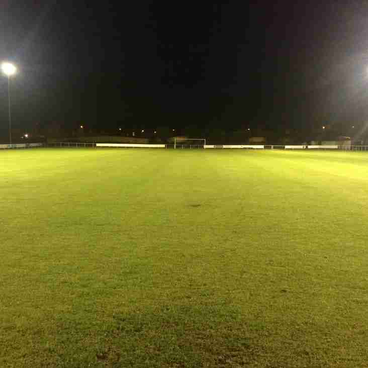 Mold Alex Flood Lights Are Up And Running