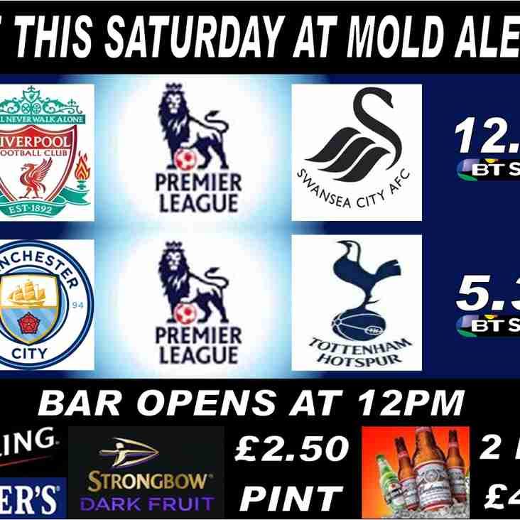 This Saturday at Mold Alex FC