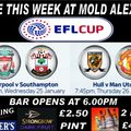 Mid Week Live Games At Mold Alex