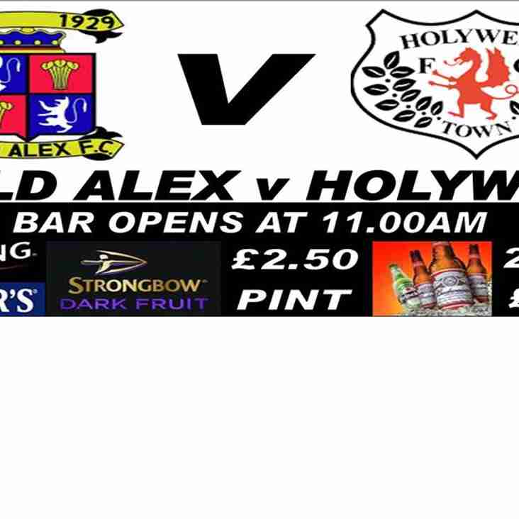 Mold Alexandra FC v Holywell Town