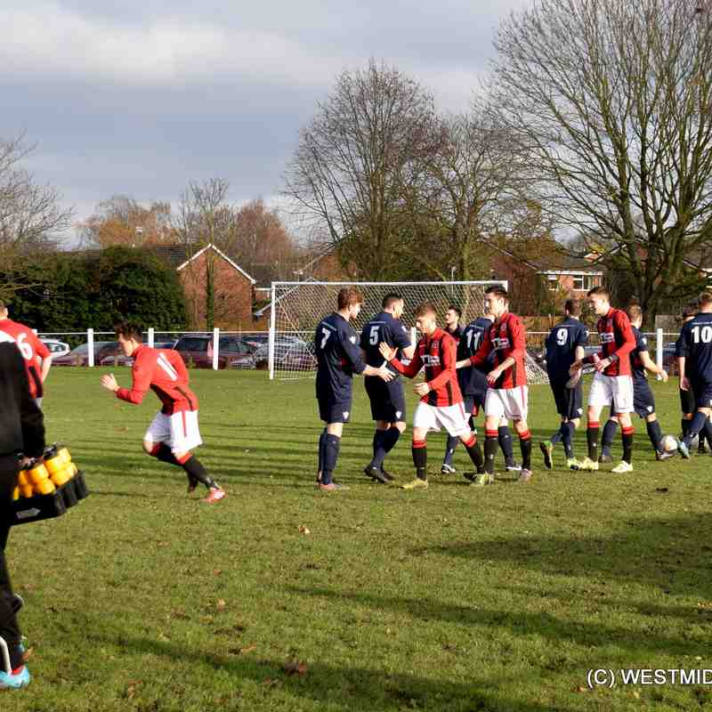 Droitwich Spa 3 - 4 WORCESTER RAIDERS, (Worcs Junior Cup) 26/11/16