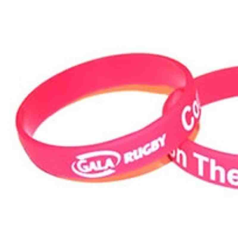 Official Gala Rugby Wristbands