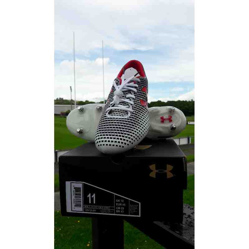 Under Armour White Boots