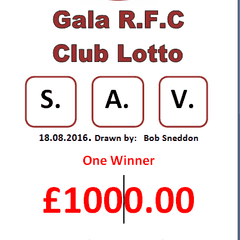 Very Lucky Lotto letters