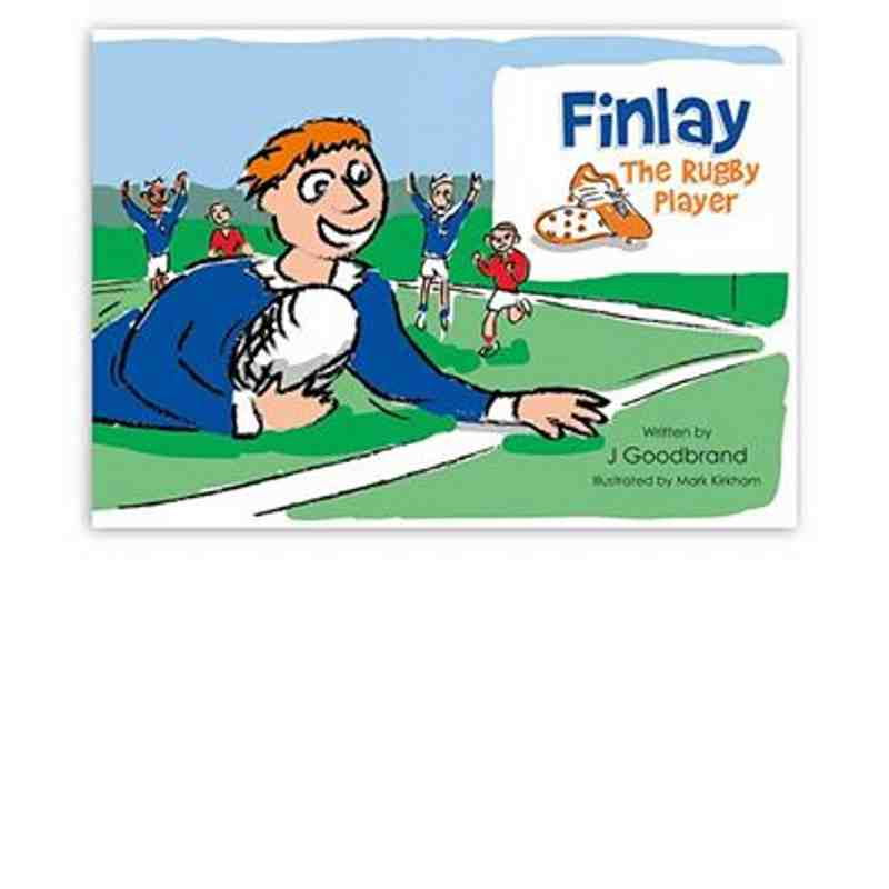 Finlay the Rugby Player' book