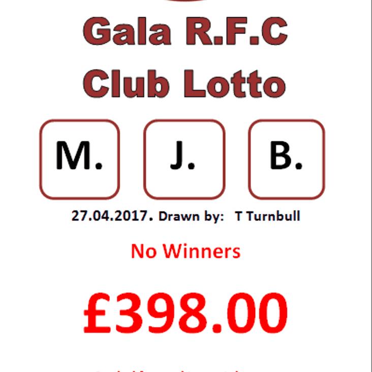 Lotto results 27.04.17