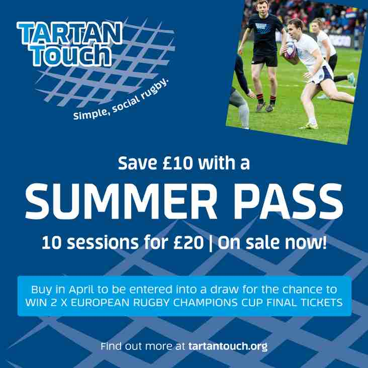 Tartan Touch join today and save