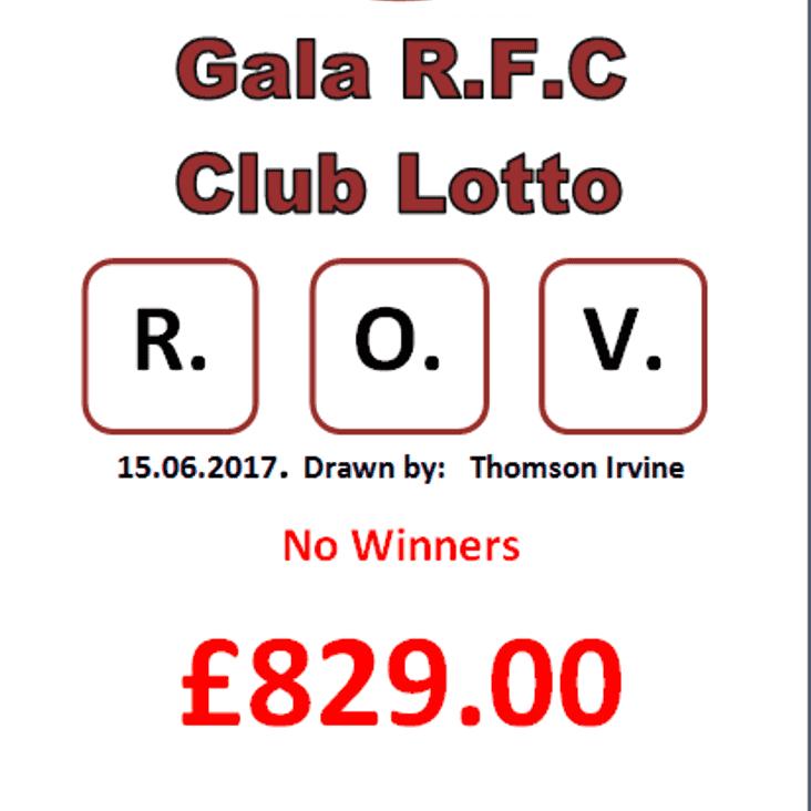 Lotto results 15.06.17