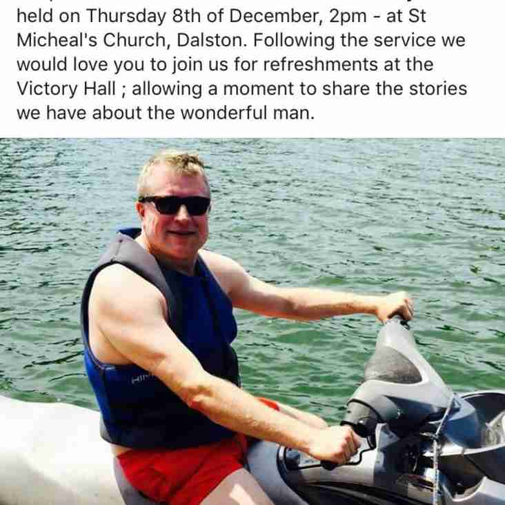 FUNERAL ARRANGEMENTS FOR THE LATE GRAHAM McKENDRY