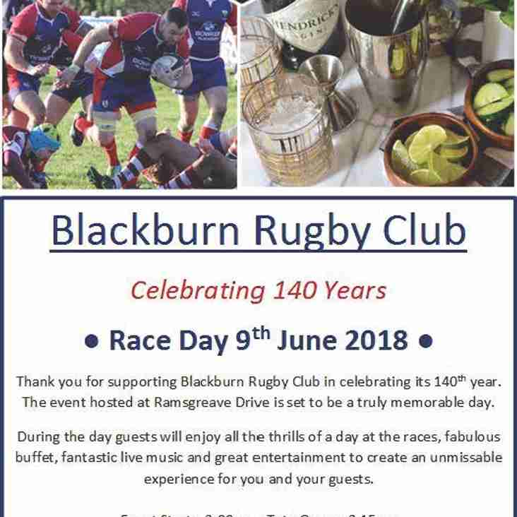 BRUFC 140 Race Day Saturday 9th June 2018 - from 3pm until Late