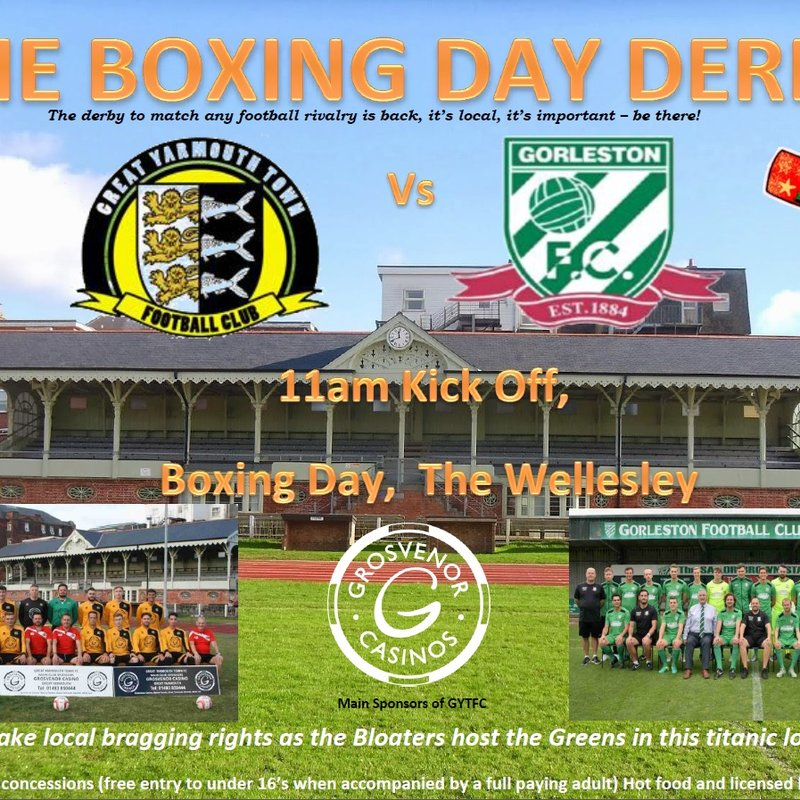 BOXING DAY DERBY