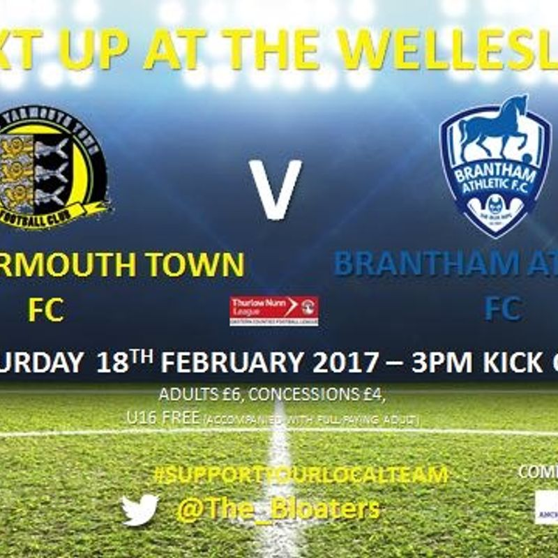 Squad News vs Brantham