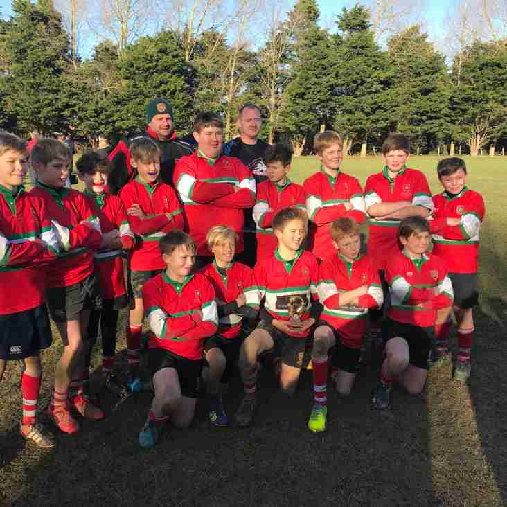 Petersfield U12 Victorious at Worthing