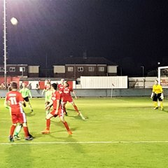 Bridlington Town (a) Lge Cup Semi Final (mobile shots)