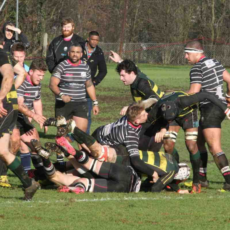 1st XV vs Old Priorians Away 30 Jan 2016