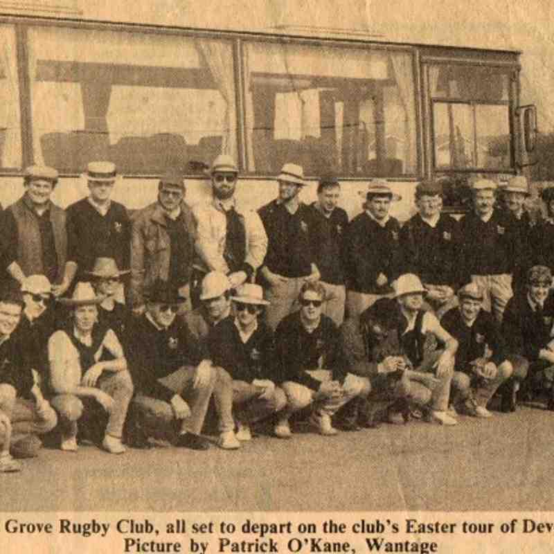 GRFC Tour of Devon 198?