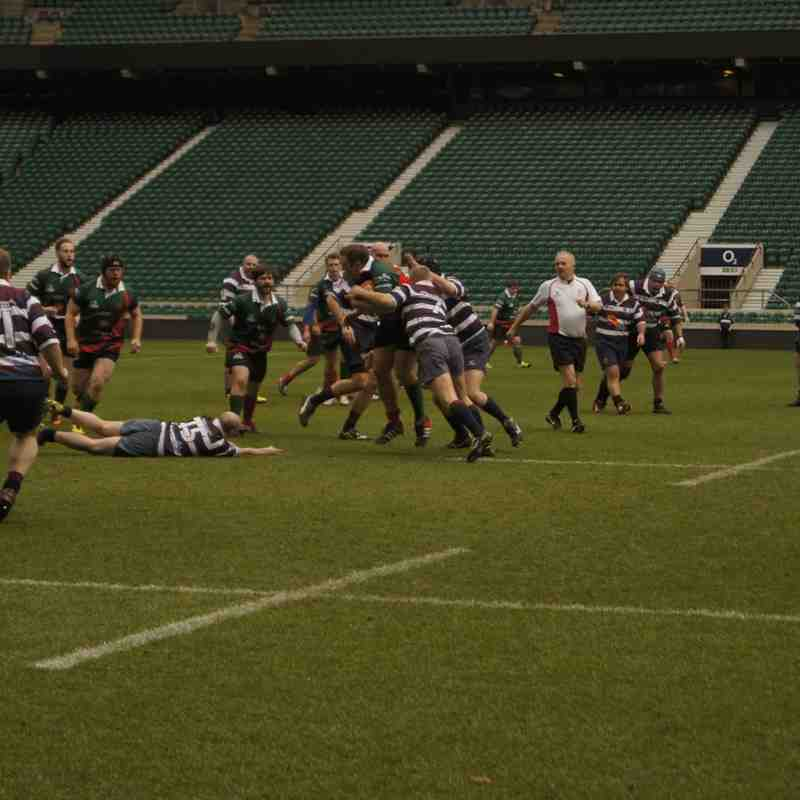 Golden Oldies versus House of Lords and Commons RUFC Twickenham 24.03.16 pt 1
