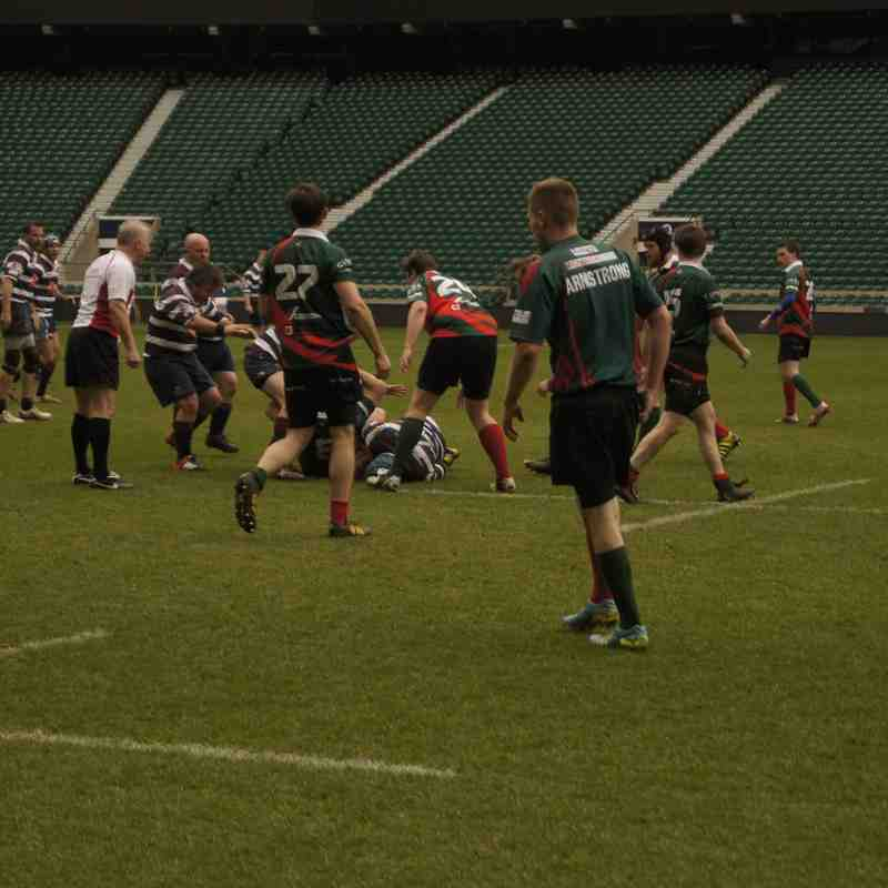 Golden Oldies versus House of Lords and Commons RUFC Twickenham 24.03.16 pt 2