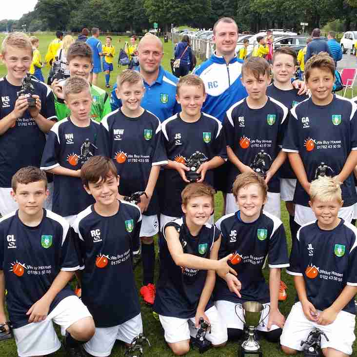 U13's ready for season after Blackburn Tournament Win