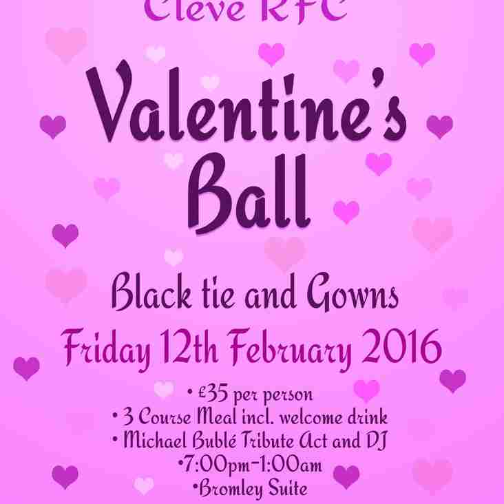 Treat Your Other Half To A Night Of Romance! Valentine's Ball @ CRFC