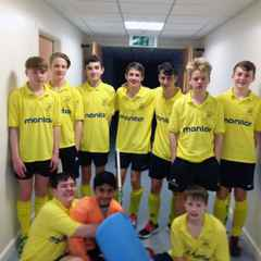Gordonians U16s Boys win the North U16 Indoor League